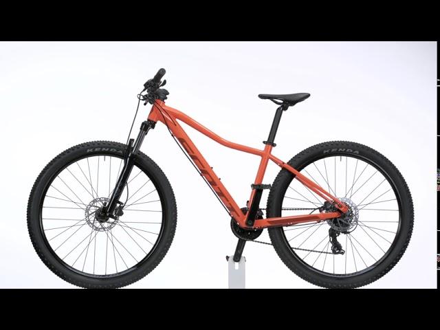Видео Велосипед Scott Contessa Active 50 (CH) Teal Green