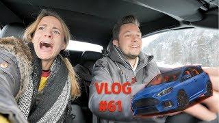 Winterfahrtraining mit Ford in Gstaad