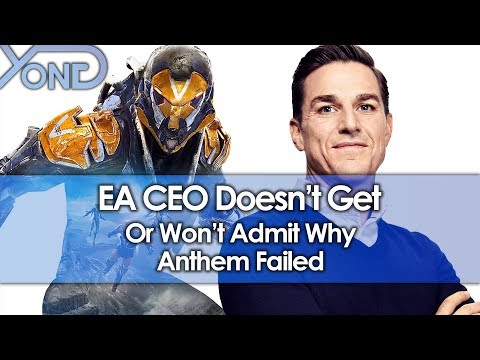 EA CEO Doesn't Get or Won't Admit Why Anthem Failed