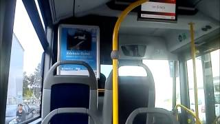 preview picture of video 'Busfahrt Linie Speyer DB-Rheinpfalzbus Mercedes'