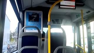 preview picture of video 'Busfahrt Linie Speyer DB-Rheinpfalzbus Mercedes'