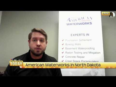 American Waterworks Interview with North Dakota Today!