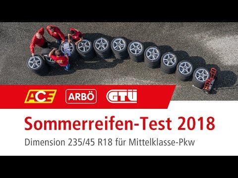 ACE-Sommerreifentest 2018