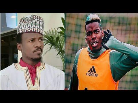 Pogba na manchester ya bawa Nazir sarkin waka mamaki haduwar su a saudiyya
