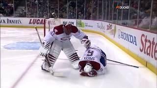 NHL Teammate Collisions
