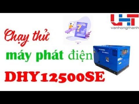 Chạy thử máy phát điện 3 pha – Văn Hồng Thanh