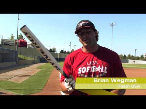 Brian Wegman Swings the Easton Synergy Tri-Zone Brian Wegman Slow Pitch Bat: SCN20BW- JustBats.com