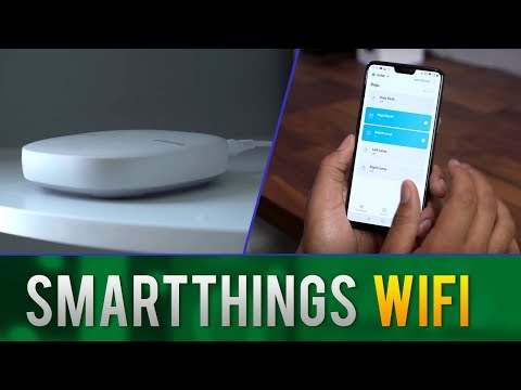 Samsung SmartThings Wifi // Ultimate Smart Home Router and Hub