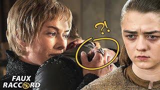 Les ERREURS de la saison 7 de Game Of Thrones - Faux Raccord