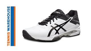 Asics Gel Solution Speed 3 Men's Tennis Shoes video