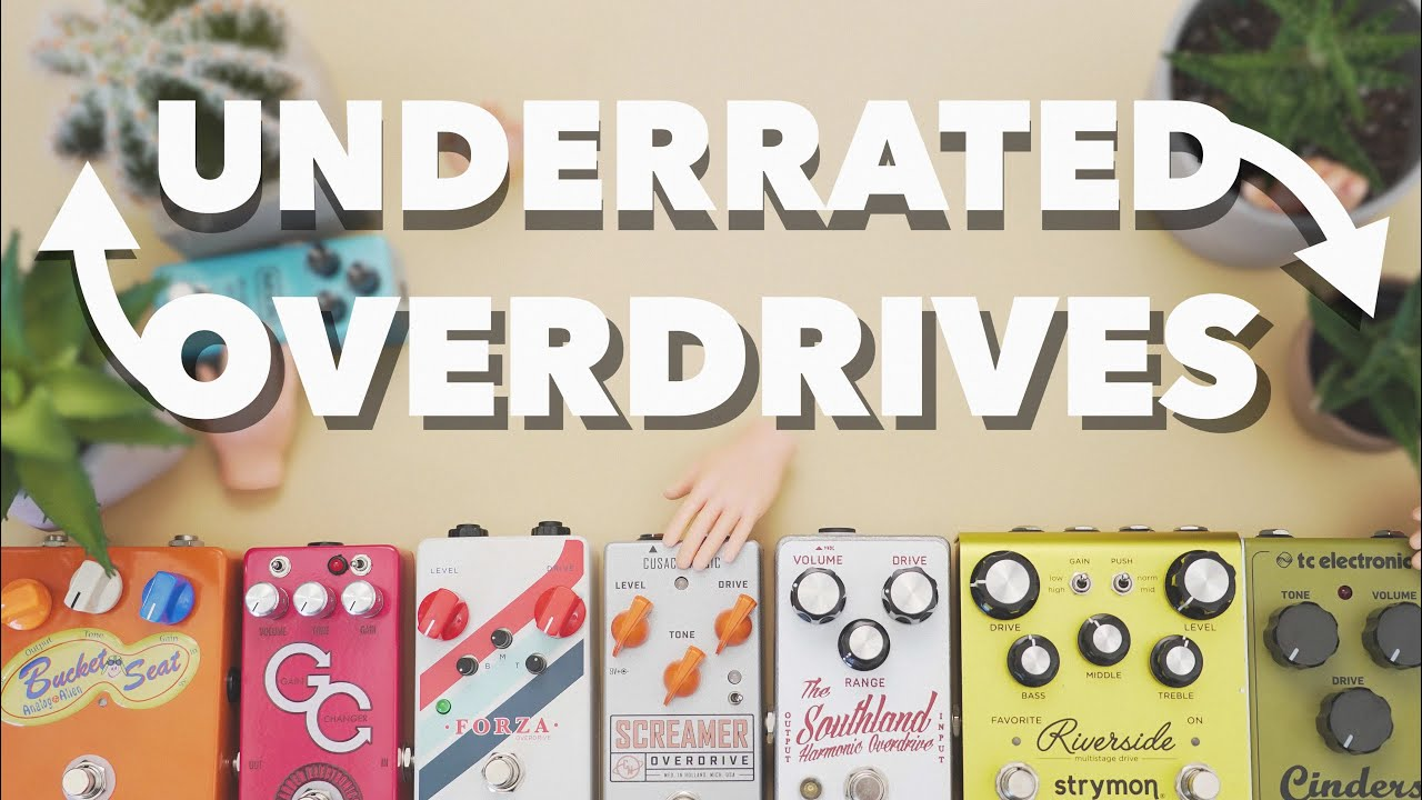 JHS Underrated Overdrive Pedals