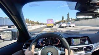 2020 BMW M340i xDrive POV Drive (3D Audio)