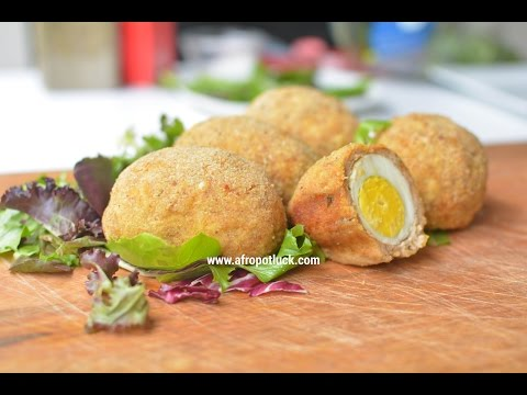 Chicken Recipes: Baked Scotch Eggs Recipe | Afropotluck
