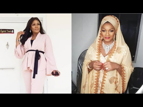 I was born a Muslim - Omotola Jalade says as she shares cute photo dressed in hijab