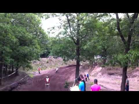 Bart Brouwer start als laatste en finisht als eerste