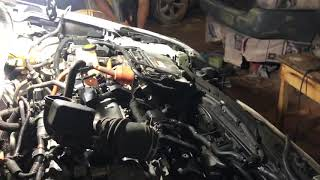 Repair and fixing Machine Toyota Prius 2011 Hybrid system