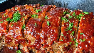 SWEET N TANGY MEATLOAF (without Loaf Pan) | QUARANTINE FAMILY MEAL
