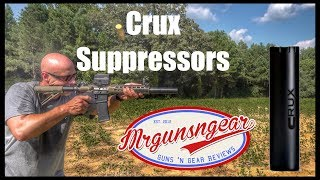 Crux Suppressors: Lightweight Precision Rifle & Pistol Silencers