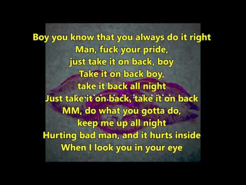 Rihanna - Kiss it Better (lyrics) - cover