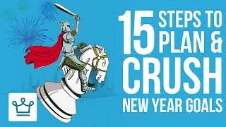 Gambar cover 15 Steps to Plan & Crush Your New Year Resolutions