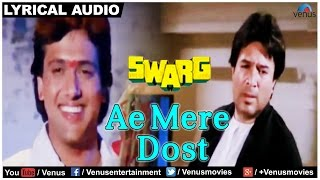 Ae Mere Dost Full Song with Lyrics | Swarg | Rajesh Khanna