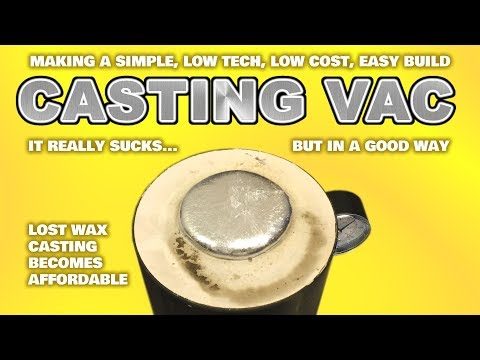 EASY build Vacuum Casting machine system for Lost   Youtube