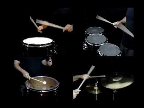 Mark G. drumline composition, Quadzilla!!!!