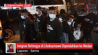 Puluhan Imigran Rohingya di BLK Lhokseumawe Dipindahkan ke Medan