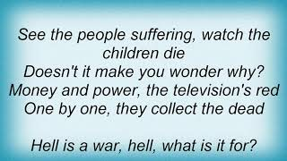 Annihilator - Hell Is A War Lyrics