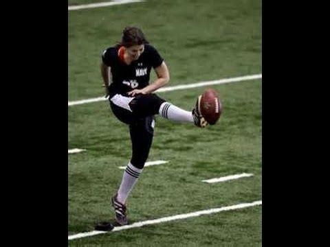1st Female Kicker NFL Tryouts = LAUREN SILBERMAN HOAX ... Plain And Simple !