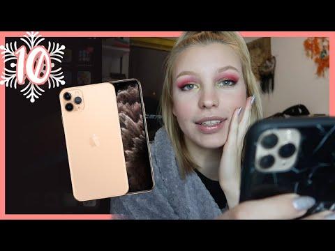 Kaj je na mojem iPhonu 11 Pro? | Vlogmas S3E10 | Kaya Solo