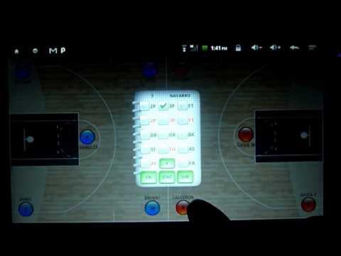Video of BASKOTE Basketball Statistics