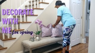 DECORATE WITH ME | SPRING FOYER | HELP ME DECIDE| MISSFEMARIE