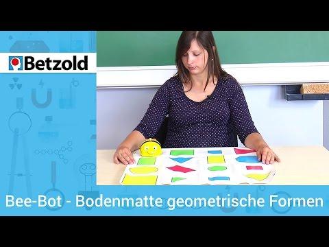 Bee-Bot Bodenmatte mit geometrischen Formen   Betzold