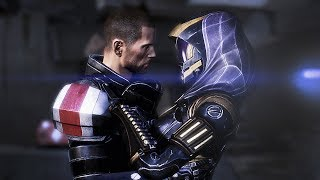 Mass Effect 3 Extended Cut - Tali Evacuation - Touching Moment - 1440p