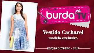 burda na TV 61 – Vestido Cacharel