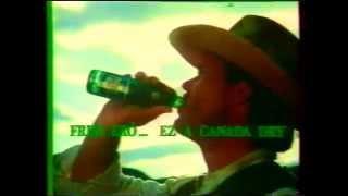 canada dry  friss erş'  cowboy   reklã¡m