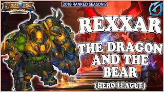 Grubby | Heroes of the Storm - Rexxar - The Dragon and the Bear - HL 2018 S2 - Dragon Shire