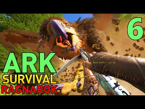 6] Griffins and Ice Wyvern Eggs! (ARK Ragnarok Survival Multiplayer