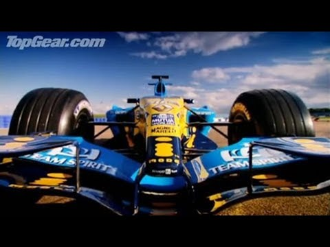 Richard drives a F1 car round Silverstone – Top Gear – BBC