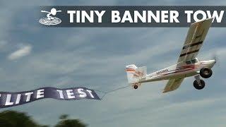 tiny plane BIG BANNER - Video Youtube