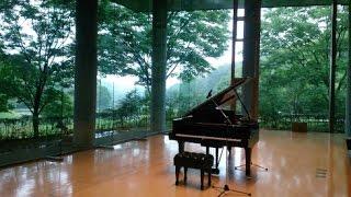 高音質ジブリアシタカせっ記 久石 譲 ピアノ ジブリ もののけ姫より 書道 Ashitaka Sekki