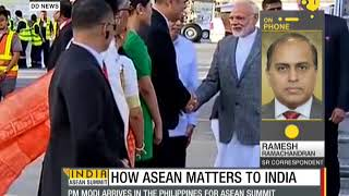 Indian PM Modi arrives in Philippines for Asean, East Asia summits