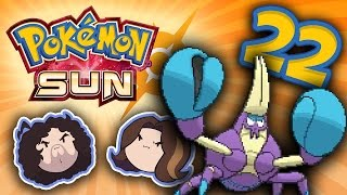 Pokemon Sun: Cave Course - PART 22 - Game Grumps