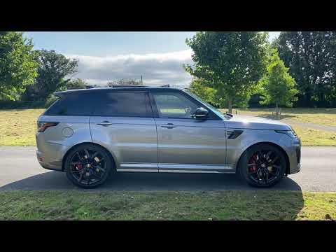 Range Rover Sport 5.0 SVR Video