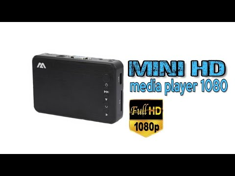 Mini HD Media player | Test | unboxing | FuLL HD