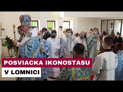 V Lomnici majú od nedele posvätený nový ikonostas