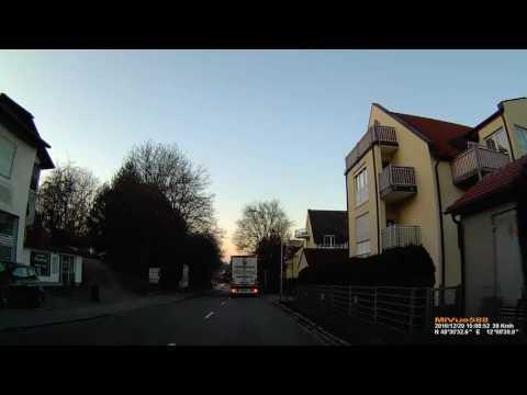 D: Gemeinde Kumhausen. Landkreis Landshut. Ortsdurchfahrt. Dezember 2016