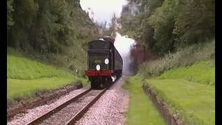 preview picture of video '0-6-2T B473 exits Sharpethorne tunnel.MP4'