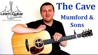 The Cave - Guitar Tutorial - Mumford & Sons - How To Play